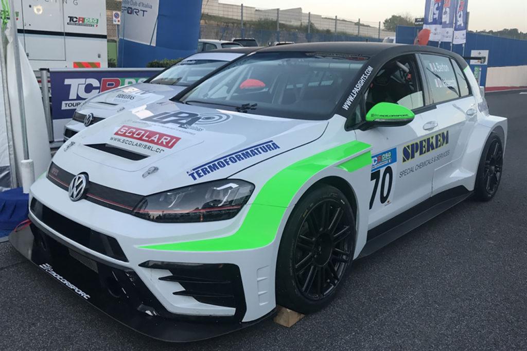 TCR DSG Endurance | Valsecchi a Vallelunga con una Volkswagen, assieme a Alessandro Berton