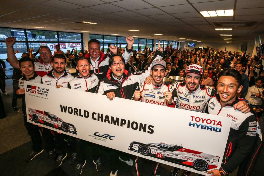 WEC | Toyota conquista il titolo Costruttori alla 6 Ore di Spa-Francorchamps