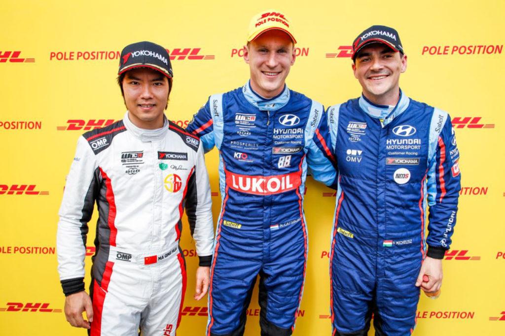 WTCR | Race of Slovakia, Qualifiche 1 e 2: due pole su due per Catsburg e Hyundai