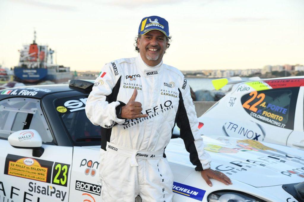 CIWRC | Il ritorno vincente dei Fiorio: Alex vince in Salento con l'Abarth 124 Rally, Cesare alla Targa di Capitanata