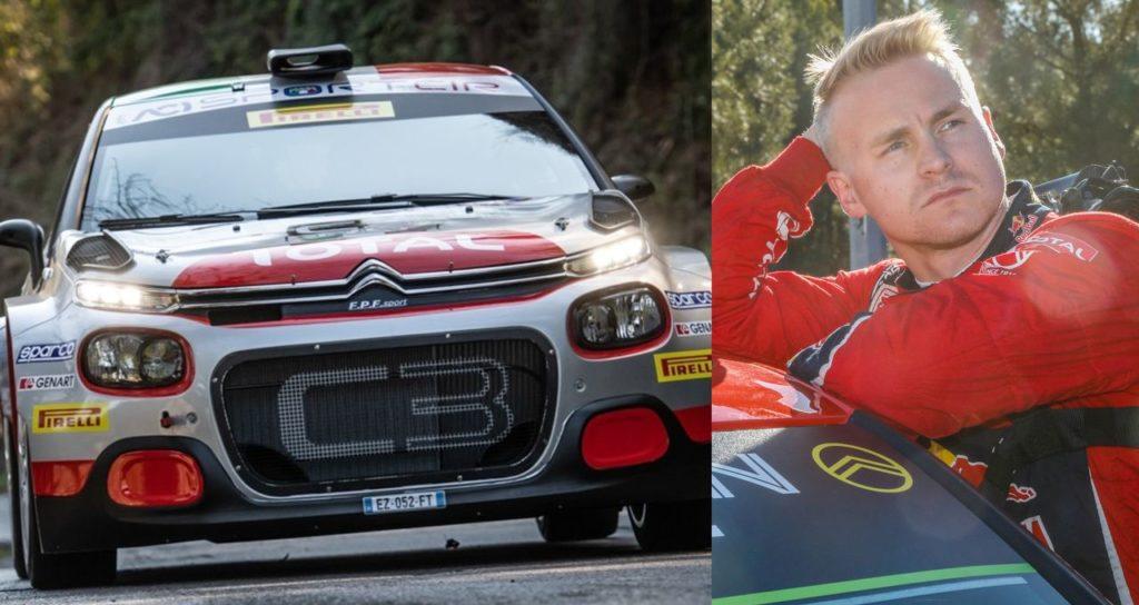 Citroen al Rally Italia Sardegna tra CIR e WRC. Le parole di Rossetti-Mori e di Lappi