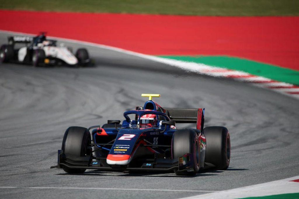 FIA F2  | Spielberg, Gara 1: vince Matsushita, riscatto di Ghiotto che va a podio