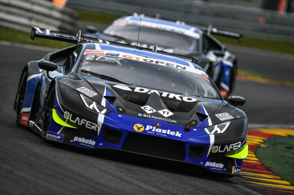 GT Open | Weekend positivo per le Lamborghini a Spa, in chiaroscuro per Emil Frey Racing