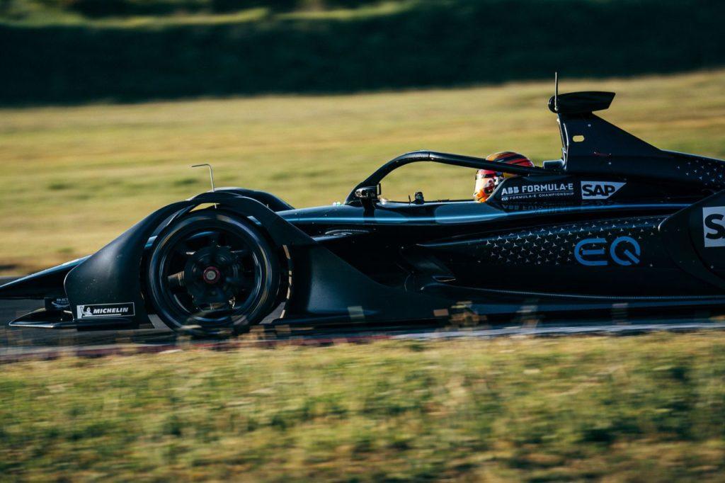 Formula E | Le Mercedes EQ tornano a girare sul circuito di Varano