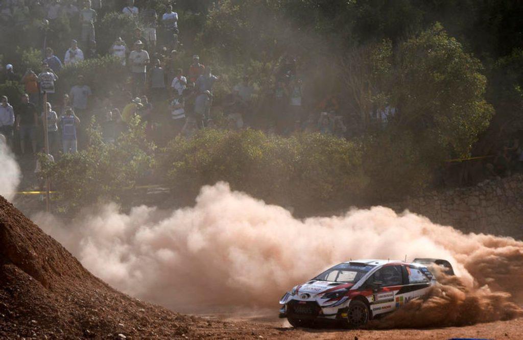 WRC | Tanak rimonta ed è leader nella seconda mattinata del Rally Italia Sardegna. Ogier sprofonda
