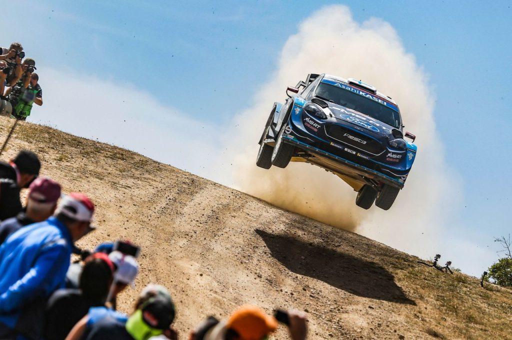 WRC | M-Sport celebra il secondo posto di Suninen al Rally Italia Sardegna