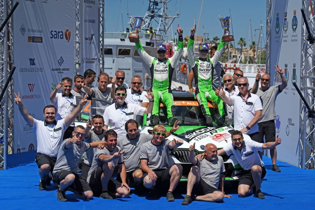 WRC2 | Skoda Motorsport, l'asso pigliatutto del Rally Italia Sardegna