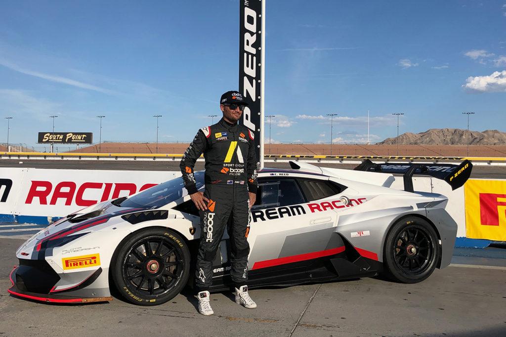 Chad Reed al via del Lamborghini Super Trofeo North America a Watkins Glen