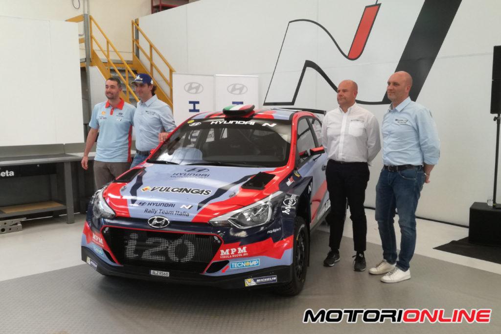 CIRT | Hyundai e S.A. Motorsport presentano lo Hyundai Rally Team Italia con Umberto Scandola