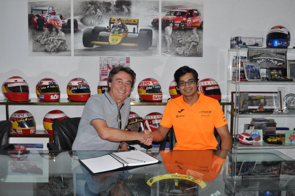 FIA F2 | Campos sceglie Maini al posto di Boccolacci per il resto della stagione