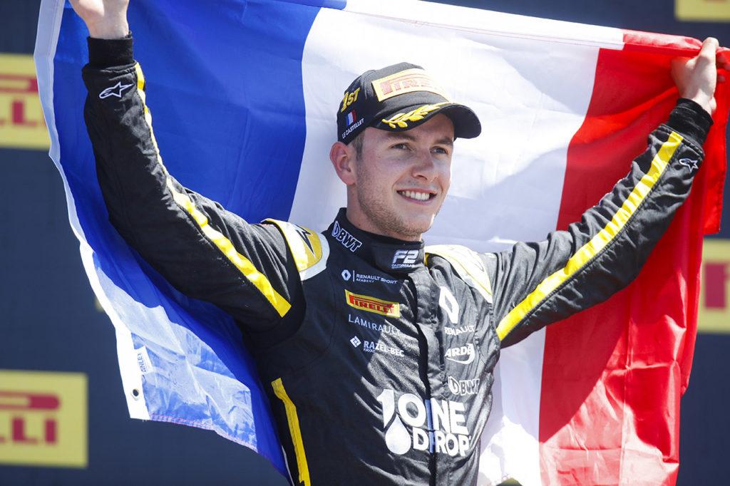FIA F2 | Le Castellet, Gara 2: Hubert imprendibile, vittoria in casa per il francese