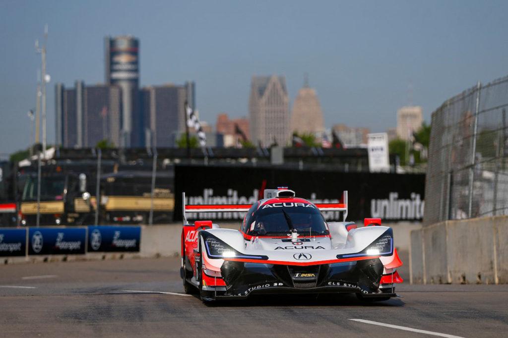 IMSA | Detroit, Gara: seconda vittoria consecutiva per l'Acura di Montoya e Cameron