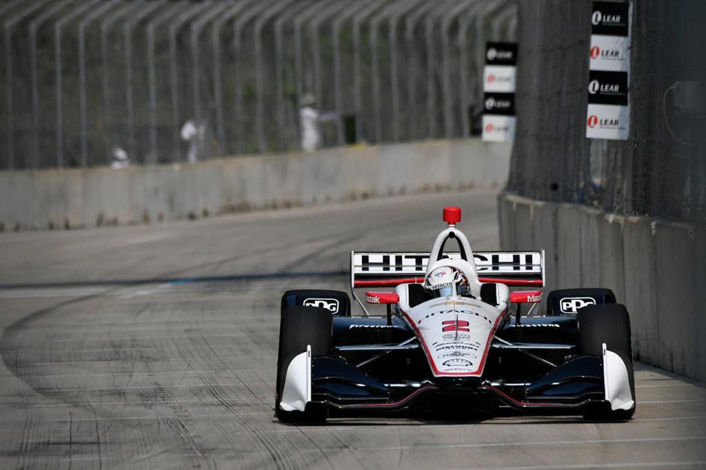 IndyCar | Detroit, Gara 1: Newgarden sfrutta la pioggia e vola in classifica