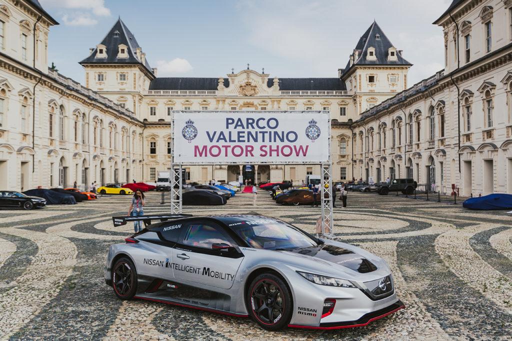 Nissan LEAF NISMO RC presente alla quinta edizione del Parco Valentino a Torino