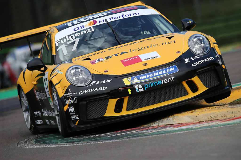 Porsche Carrera Cup Italia | Imola, Gara 1 e 2: a Mosca e Fulgenzi le vittorie, Bertonelli leader