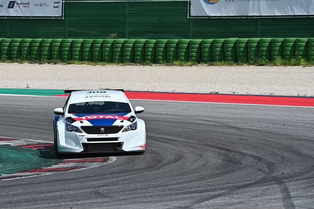 Peugeot pronta a lanciare in pista la nuova 308 TCR a Adria