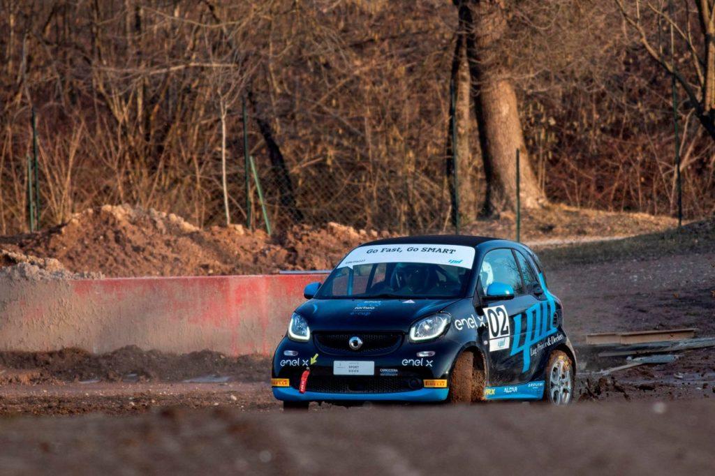 smart EQ fortwo e-cup   Le vetture elettriche al Rally Italia Sardegna: correranno nel Parco di Porto Conte