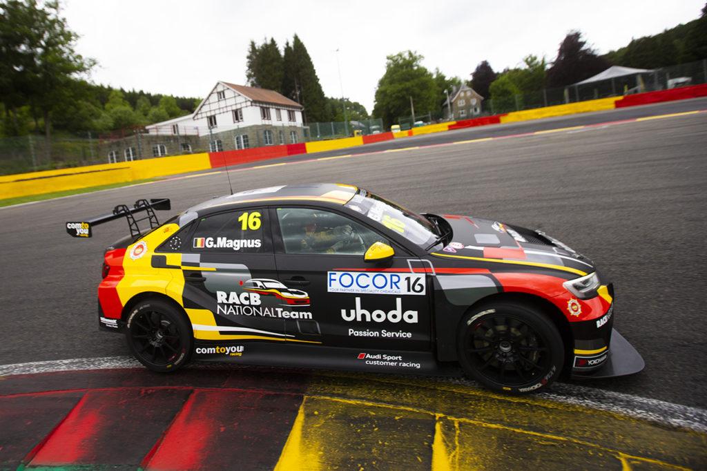 TCR Europe | Spa-Francorchamps, Gara 1: Magnus non sbaglia dalla pole
