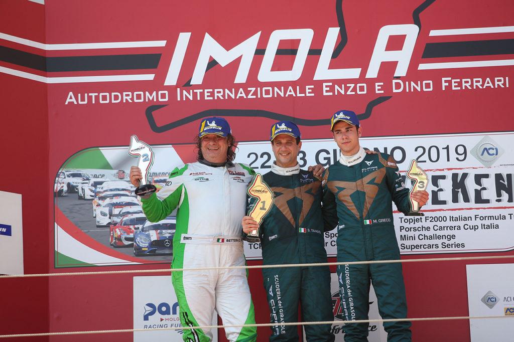 TCR Italy | Imola, Gara 2: Tavano vince e si conferma leader di campionato