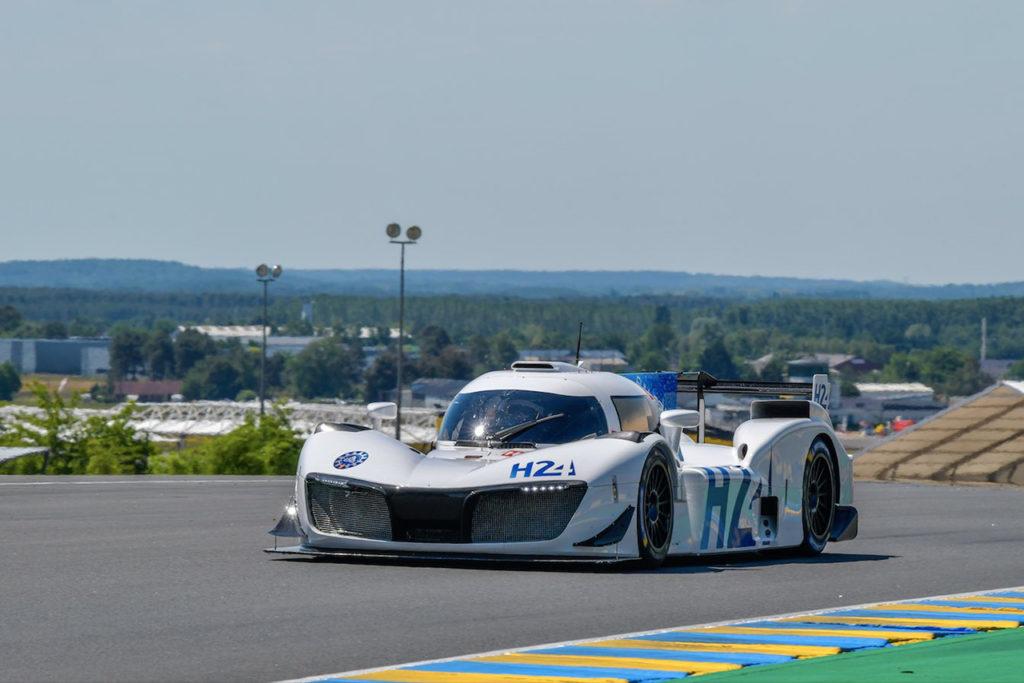 WEC | Primi giri per il prototipo a idrogeno di Mission H24 a Le Mans