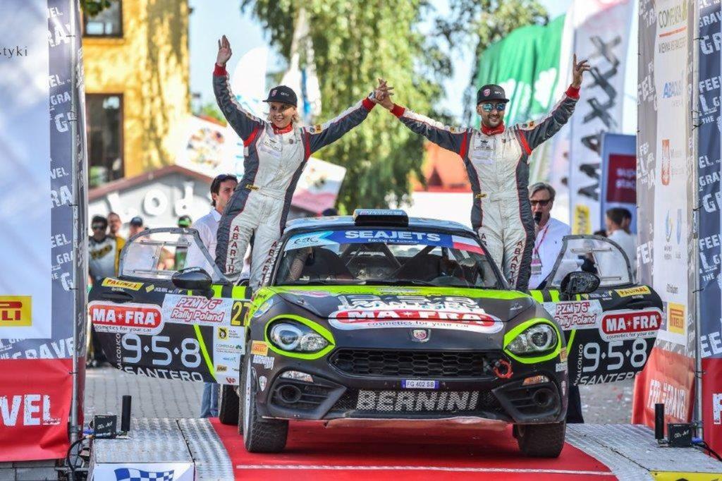 Abarth Rally Cup | Altra vittoria per Nucita e Pop, che conquistano il Rally Polonia