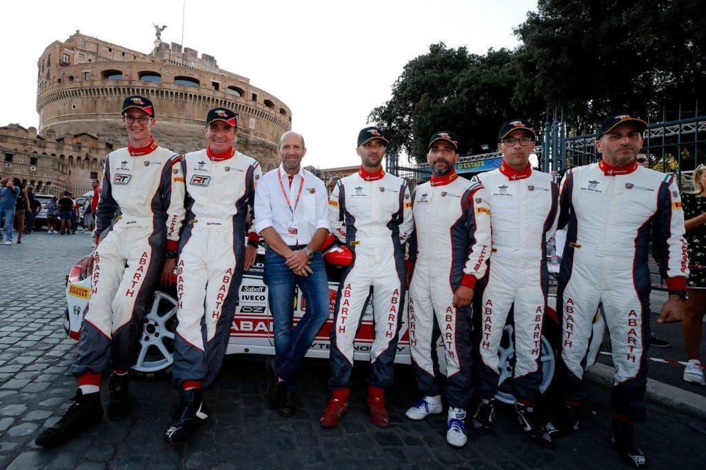 Abarth Rally Cup   Polonski vince il Roma Capitale: le Abarth 124 Rally a podio nell'ERC2