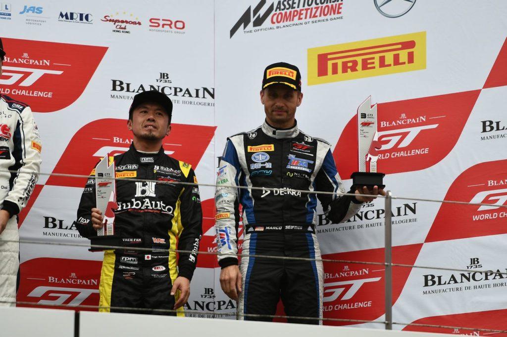 Blancpain | World Challenge Asia: a Fuji le Ferrari vanno a podio in Gara 1
