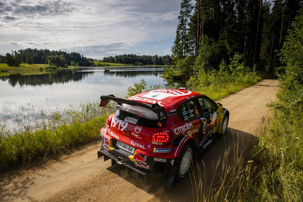 WRC | Un pieno di fiducia per Citroen in vista del Rally Finlandia