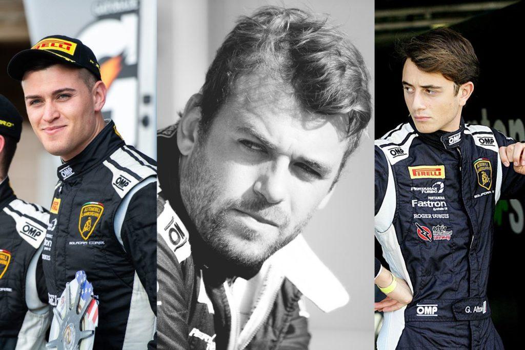 24 Ore Spa, Lamborghini Squadra Corse schiera i giovani campioni Lewis, Amici ed Altoé