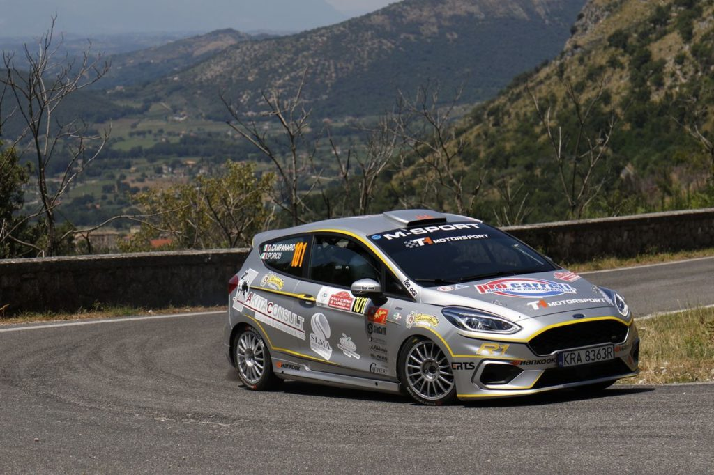 CIR | Le nuove Ford Fiesta convincono al Rally di Roma Capitale