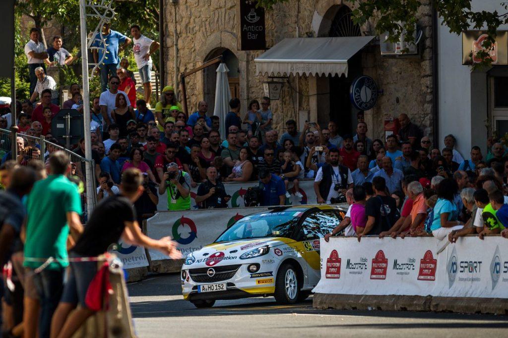 ERC | Munster e Lundberg, Opel Junior, alla prova del Rally Roma Capitale tra piazzamenti e guai fisici