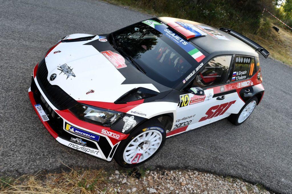 ERC | Rally Roma Capitale, Gryazin conquista la Qualifying Stage. Bene gli italiani, penalità per Campedelli