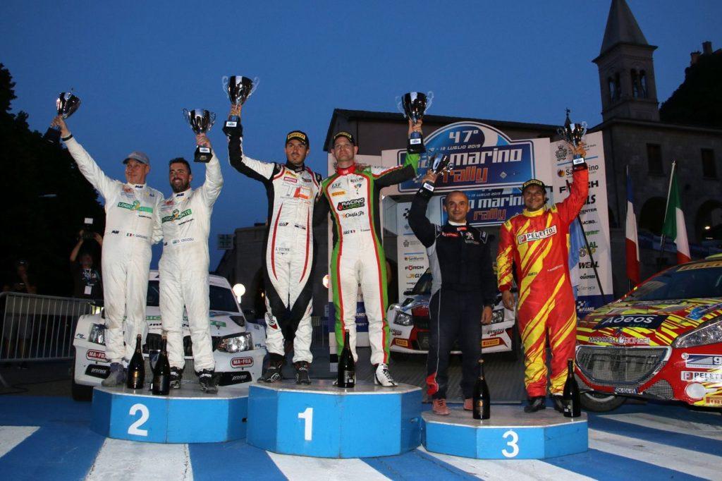 CIRT | Terzo successo consecutivo per Consani che vince il San Marino Rally. Andreucci sul podio, fuori Scandola e Costenaro