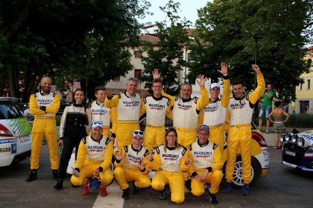 Suzuki Rally Cup | Girone CIWRC: gli equipaggi al Rally Alba