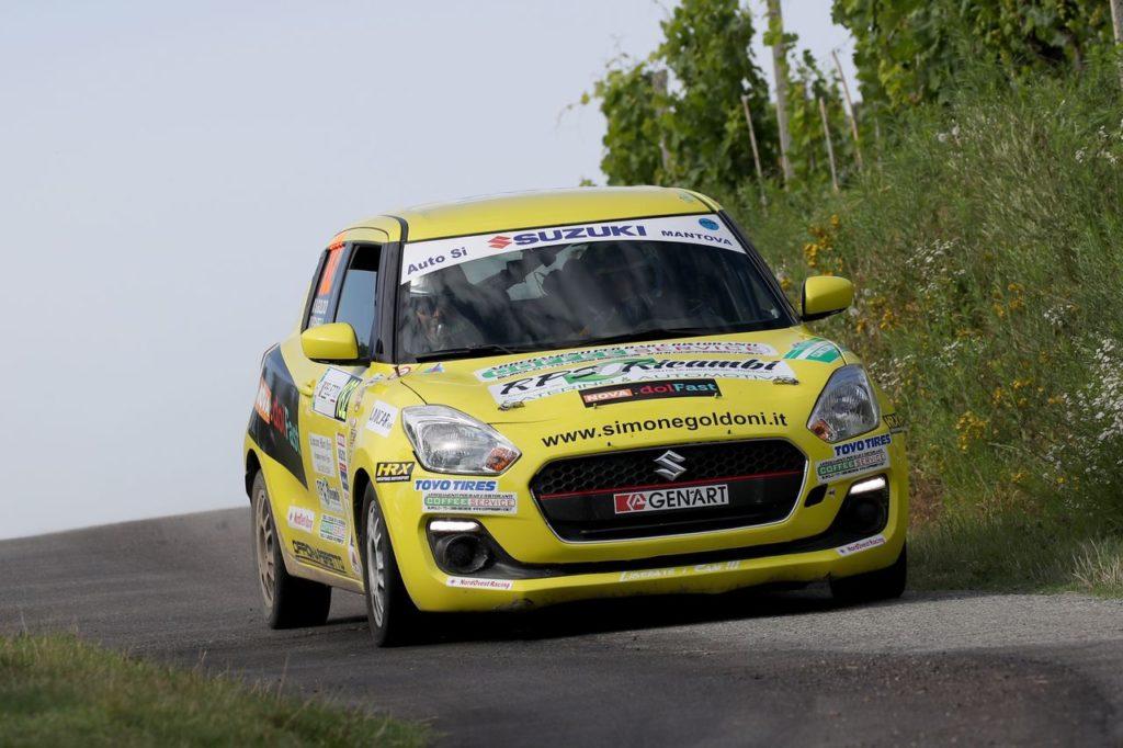 Suzuki Rally Cup | Rally Alba, Simone Goldoni torna alla vittoria nel girone CIWRC