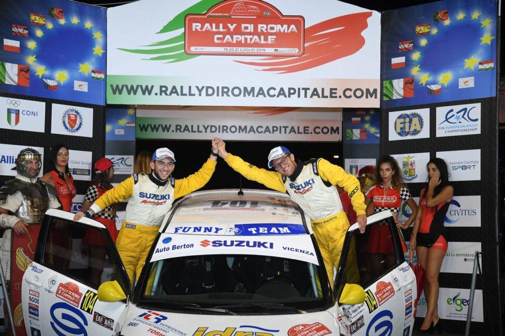 Suzuki Rally Cup | Lotta aperta al Rally Roma Capitale: Scalzotto vince e si prende la leadership