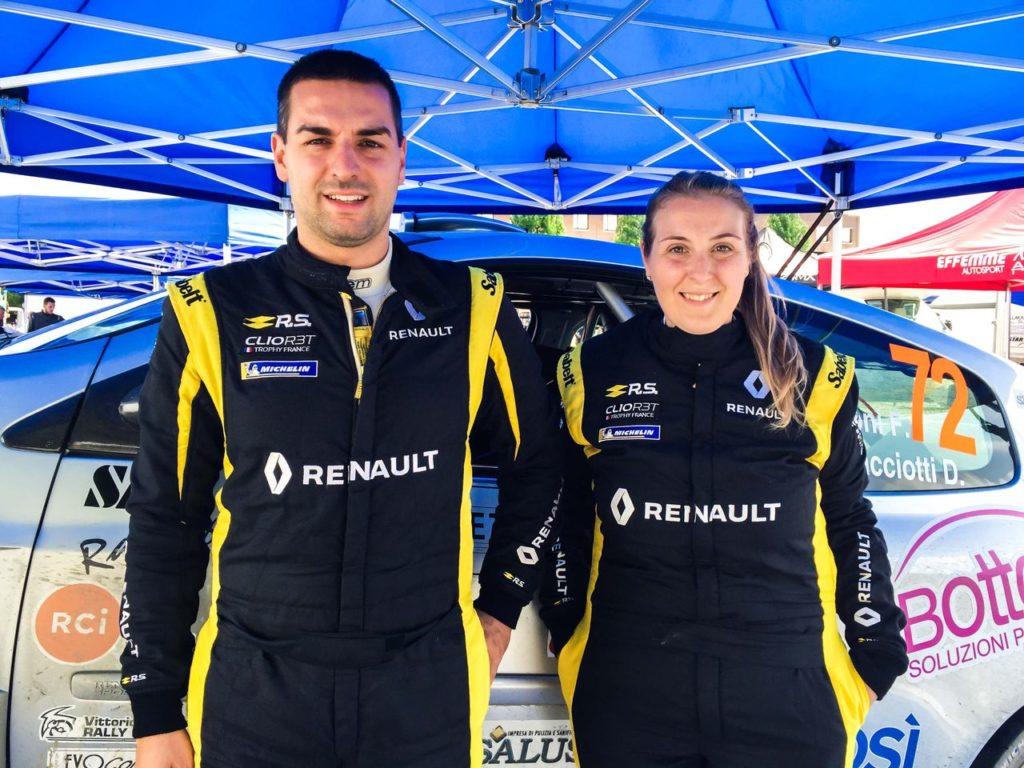 Trofei Renault Rally | Rally Alba, Bottoni e Ramacciotti si laureano campioni del Clio R3 TOP 2019