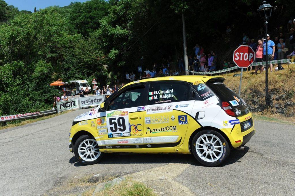 Trofei Renault Rally | Gabriele Catalini campione nel Twingo R1 2019 con una gara di anticipo