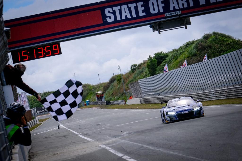 Blancpain | Zandvoort, Gara 2: Haase e Gachet dominano con l'Audi di Sainteloc