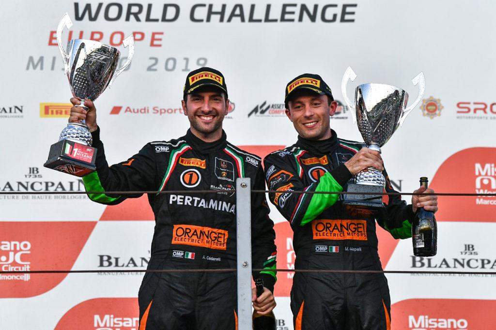 Blancpain | Primo trionfo di Lamborghini con Caldarelli e Mapelli a Misano