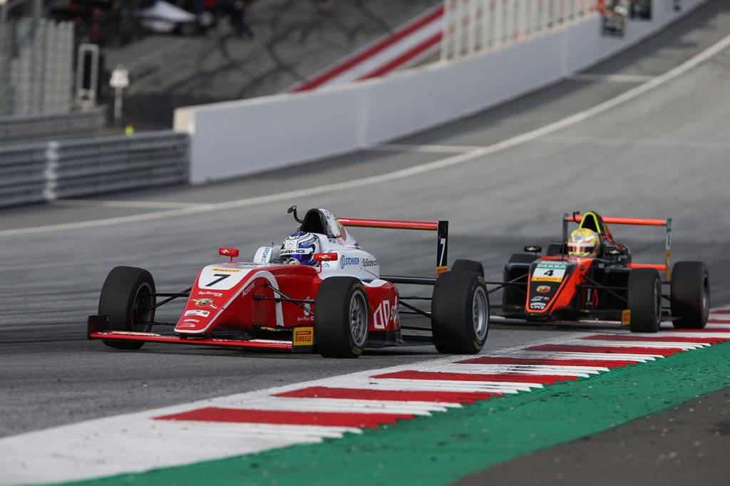 F4 Italia | Spielberg, Gara 1: prima affermazione di Aron davanti a Krutten