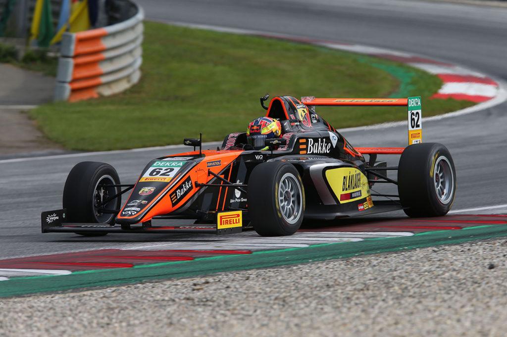 F4 Italia | Spielberg, Gara 2: Hauger agguanta la vittoria e si avvicina a Petecof