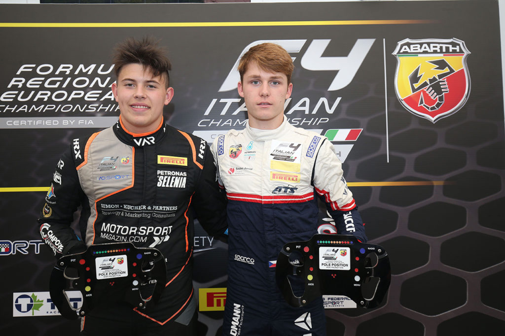 F4 Italia | Spielberg, Qualifiche 1 e 2: Stanek e Krutten arraffano le pole position