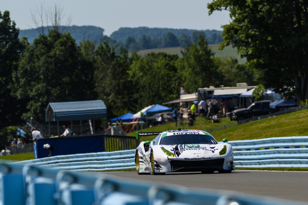 IMSA | Ferrari a podio tra le GTD con Scuderia Corsa a Watkins Glen