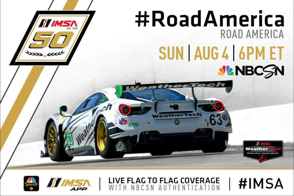 IMSA   Road America 2019: anteprima e orari del weekend