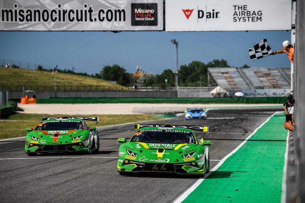 Lamborghini Super Trofeo Europe | Postiglione e Galbiati si concedono il bis a Misano