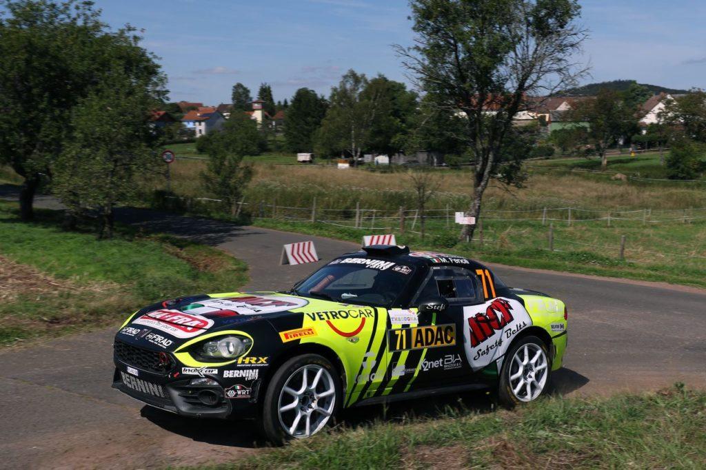 Enrico Brazzoli porta l'Abarth 124 Rally a vincere nuovamente la FIA RGT Cup