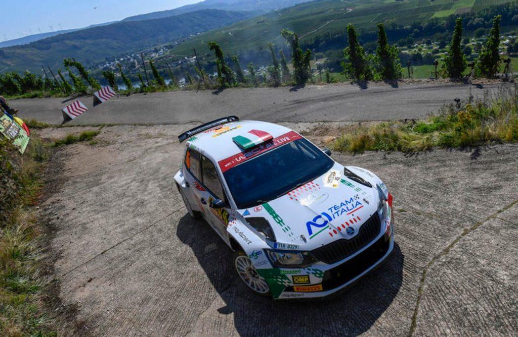 WRC2 | Fabio Andolfi va avanti e sarà al Rally Turchia, nonostante l'incidente in Germania