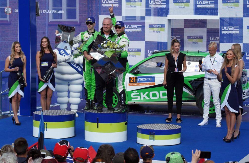 WRC2 Pro | Inarrestabile Kalle Rovanpera: domina anche il Rally di Finlandia con la Skoda Fabia R5