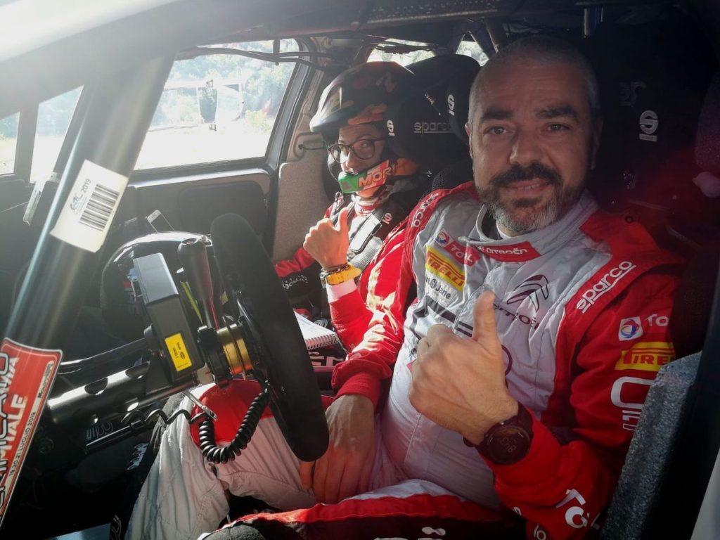 CIR | Rossetti gioca in casa al Rally Friuli Venezia Giulia: il commento dell'equipaggio Citroen